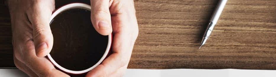 Snelle mindfulness drukke werkdag